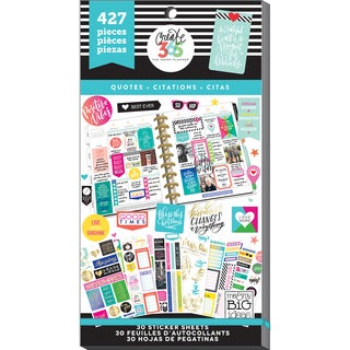 Create 365 Happy Planner Sticker Value Pack-Quotes