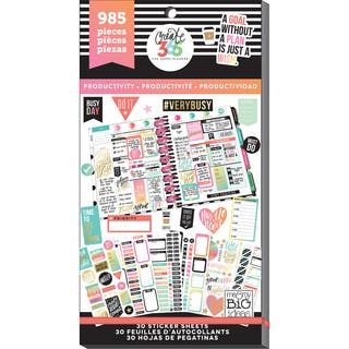 Create 365 Happy Planner Sticker Value Pack-Productivity|https://ak1.ostkcdn.com/images/products/15287155/P21756013.jpg?impolicy=medium