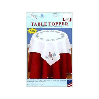 "Jack Dempsey Table Topper 35"" Cardinals"