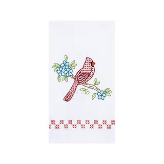 Jack Dempsey Dec Hand Towel Cardinal