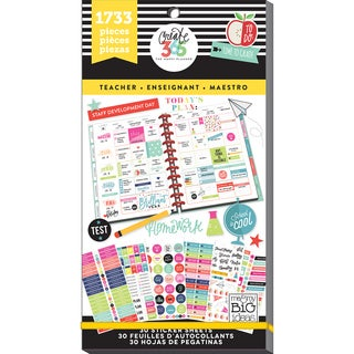 Create 365 Happy Planner Sticker Value Pack-Big Teacher