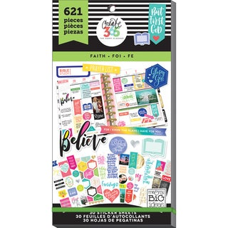 Create 365 Happy Planner Sticker Value Pack-Classic Faith