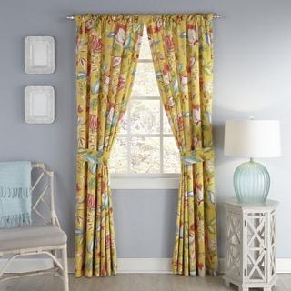 Waverly Modern Poetic Window Curtain Panel Pair