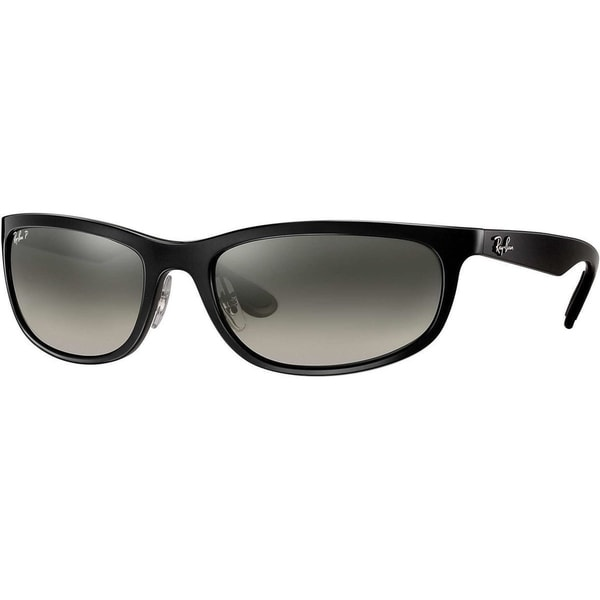 bb6c83de2d Shop Ray-Ban RB4265 601 5J Men s Black Frame Polarized Silver Mirror ...