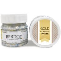 BoBunny Double Dot Glitter Paste 50ml-Gold Confetti