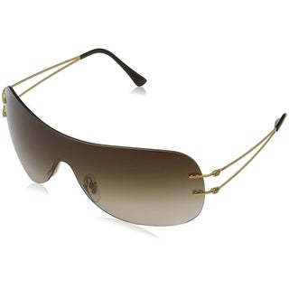 Ray-Ban RB8057 157/13 Unisex Rimless Brown Gradient Single Lens Sunglasses