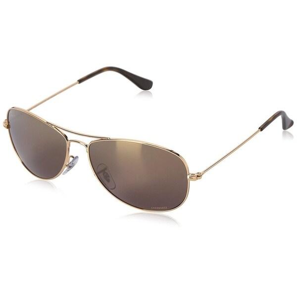 4af7c3d520 Shop Ray-Ban Chromance RB3562 001 6B Men s Gold Frame Purple Mirror ...