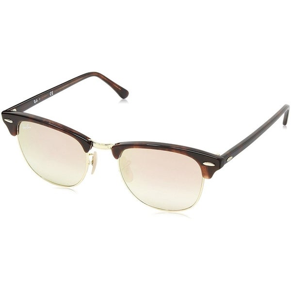 33e6a0260e Shop Ray-Ban Clubround Double Bridge RB4346 990 7O Men s Tortoise ...