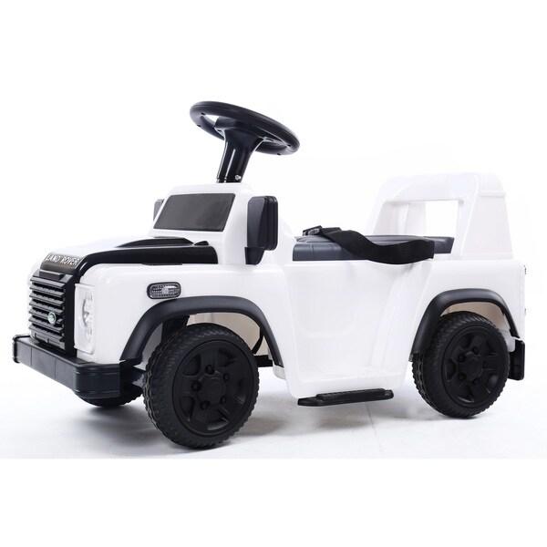 Blazin Wheels White Land Rover