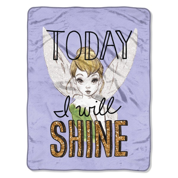 Tinker Bell Shine Today Throw