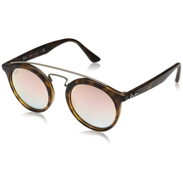 6d2868da94 Ray-Ban Gatsby I RB4256 6267B9 Unisex Tortoise Frame Copper Gradient Mirror  Lens Sunglasses
