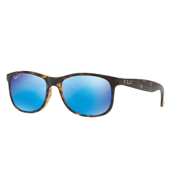 45d98c843a Shop Ray-Ban Andy RB4202 710 9R Men s Tortoise Frame Polarized Blue ...