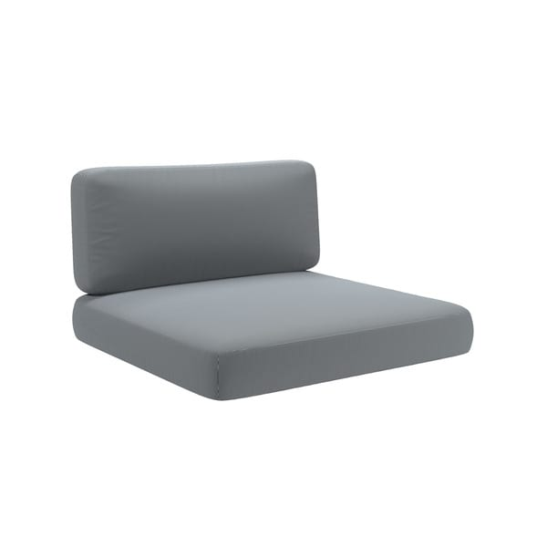 Shop Corliving Oakland Patio Chair Replacement Seat Cushions Set Of