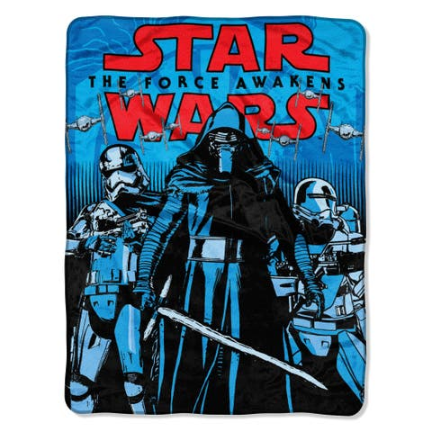 Star Wars EPS 7 First Arrival Throw - Red/White/Black