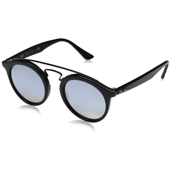 e39e2c18640 Ray-Ban Gatsby I RB4256 6253B8 Unisex Black Frame Blue Gradient Flash 46mm  Lens Sunglasses