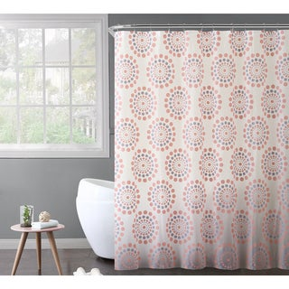 VCNY Home Maysam PEVA Shower Curtain Bath Set