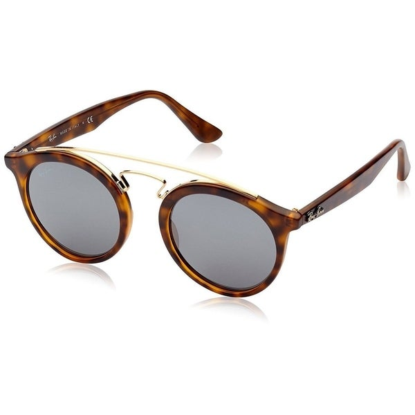 e074206c46 Ray-Ban Gatsby I RB4256 60926G Unisex Tortoise Frame Grey Mirror Lens  Sunglasses