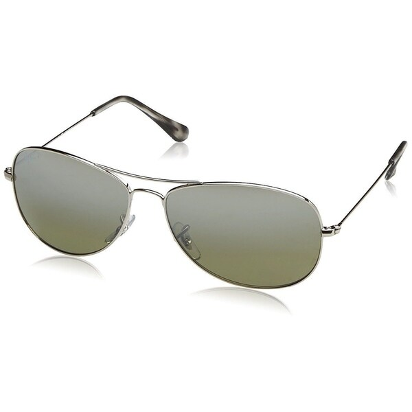 bc34841d21 Shop Ray-Ban Chromance RB3562 003 5J Men s Silver Frame Polarized ...