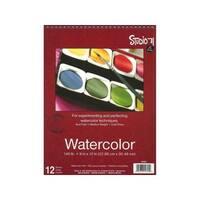 Darice Studio 71 Watercolor Pad Spiral 9x12 12 Sht