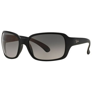 Ray-Ban RB4068 601SM3 Women's Black Frame Polarized Grey Gradient 60mm Lens Sunglasses