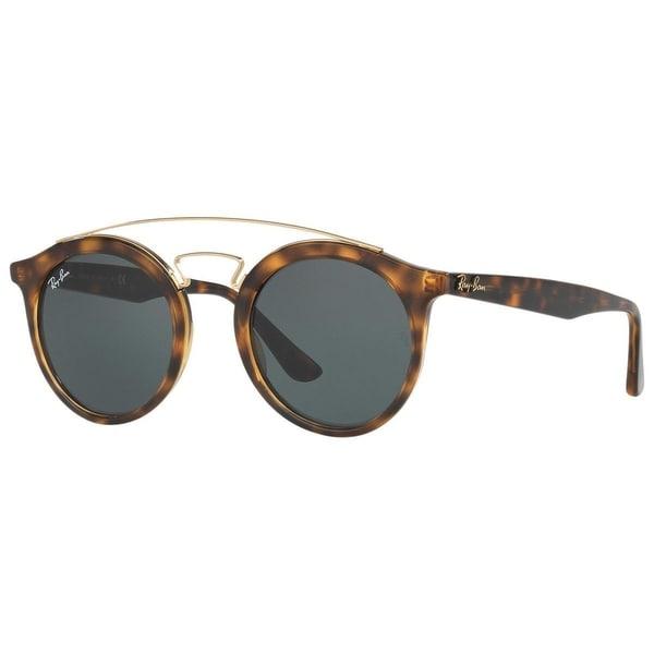 fd0f1009aa Ray-Ban Gatsby I RB4256 710 71 Unisex Tortoise Frame Green Classic Lens  Sunglasses