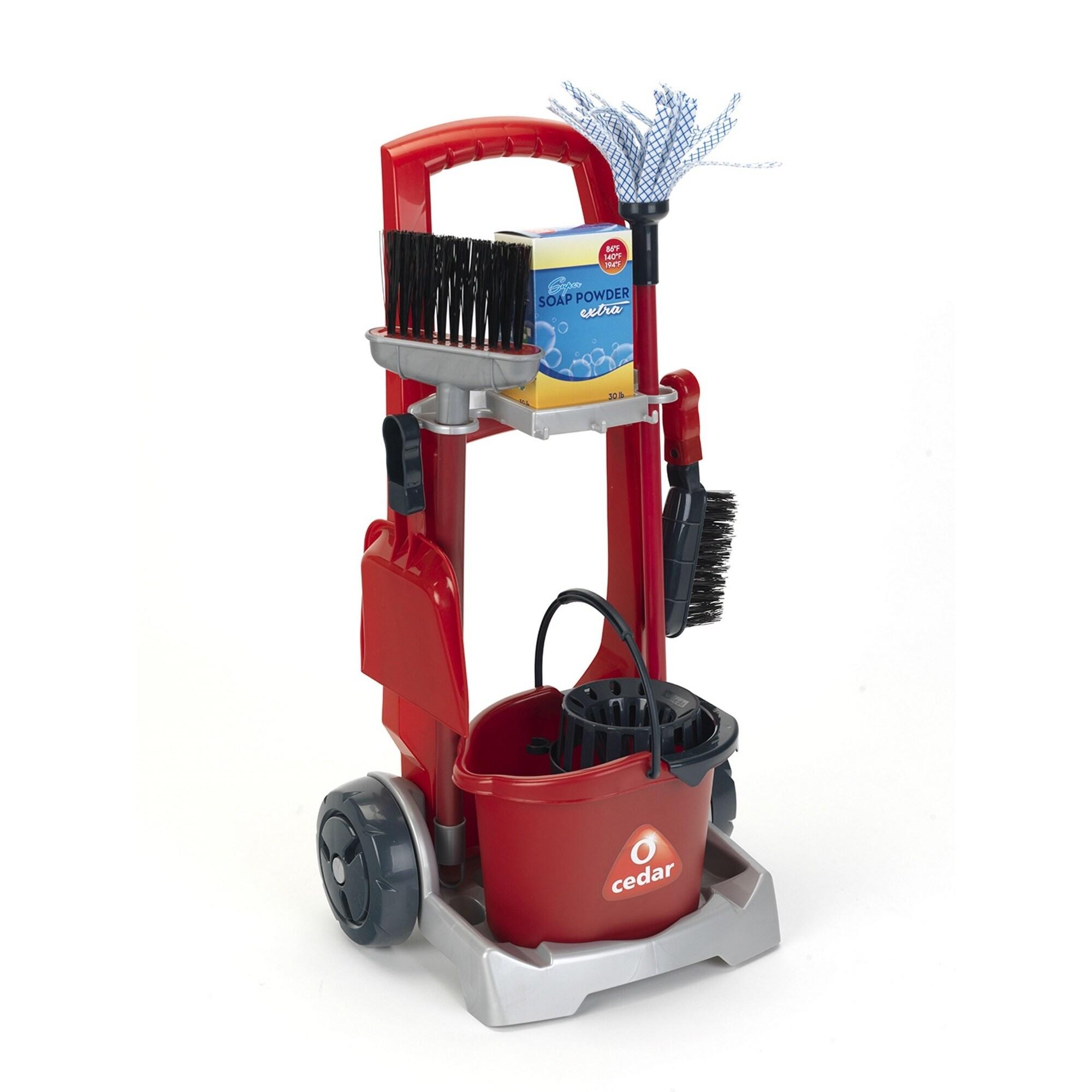 Theo Klein O'Cedar Cleaning Trolley (G4009847064509), Multi