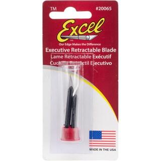 Executive Retractable Blades 2/Pkg-