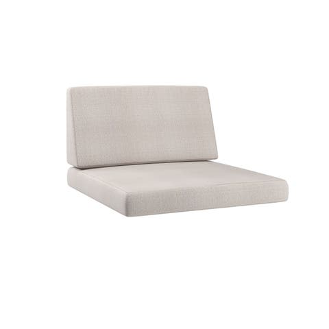 CorLiving Park Terrace 2-piece Patio Middle Chair Replacement Seat Cushions