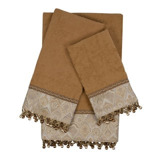 Sherry Kline Mandalay Nugget Decorative Embellished Towel Set