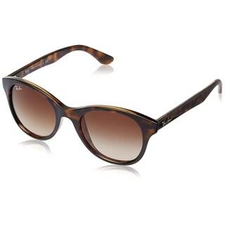 Ray-Ban RB4203 710/13 Women's Tortoise Frame Brown Gradient 51mm Lens Sunglasses