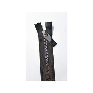"Sisters Common Thread Zipper 16"" Blk Tape Gunmetal"