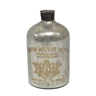 Gold Eagle Glass Decorative Bottle Vase