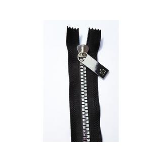 "Sisters Common Thread Zipper 16"" Blk Tape Nickel"