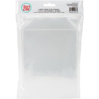 "Avery Elle Stamp & Die Storage Pockets 50/Pkg-Large 5.5""X7.25"" https://ak1.ostkcdn.com/images/products/15288438/P21756903.jpg?_ostk_perf_=percv&impolicy=medium"