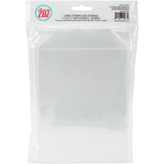 "Avery Elle Stamp & Die Storage Pockets 50/Pkg-Large 5.5""X7.25""|https://ak1.ostkcdn.com/images/products/15288438/P21756903.jpg?impolicy=medium"
