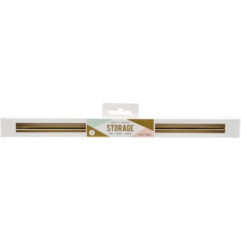 """Wire System Adjustable Hanging Rod-Gold, 11"""" To 19"""""""