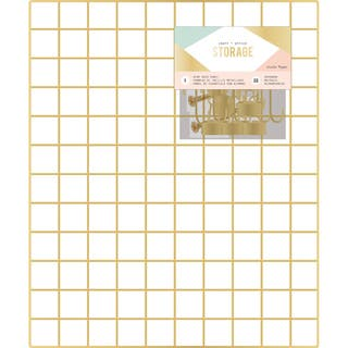 """Wire System Grid Panel 20""""X24""""-Gold