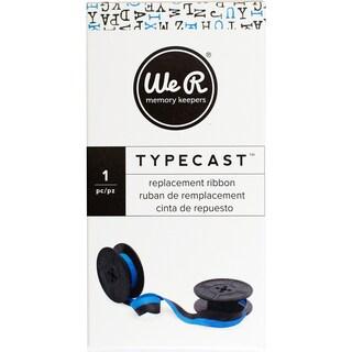 We R Typecast Typewriter Ribbon -Light Blue/Black