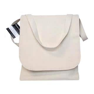 Mark Richards Blank Canvas Book Bag 10.5x12 Nat|https://ak1.ostkcdn.com/images/products/15288533/P21757270.jpg?impolicy=medium