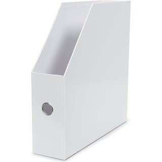 "Vertical Paper Holder 13.5""X13.25""X3.5""-White"