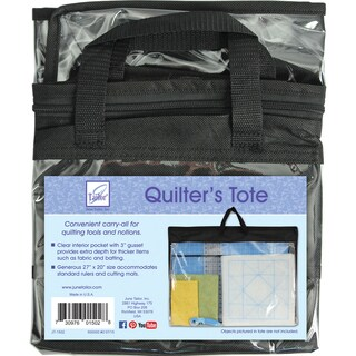 """Quilter's Tote W/Gusset-27""""X20"""""""