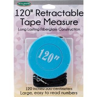 "Retractable Tape Measure 120""-Blue"