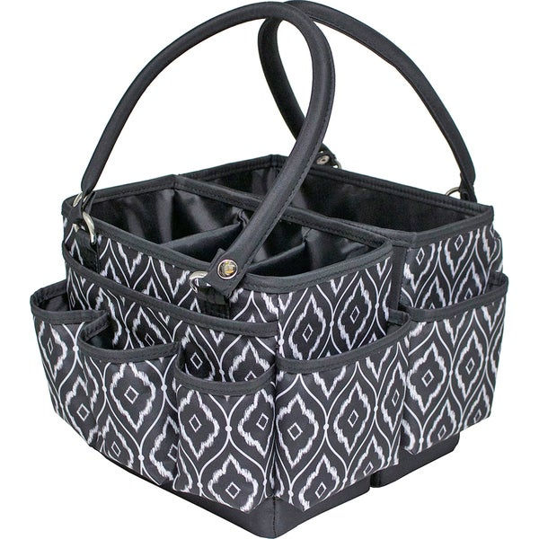Everything Mary Fold Open Deluxe Organizer 10X10X775Black