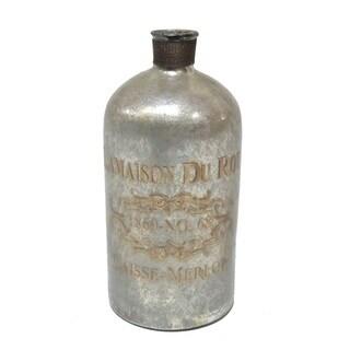 Gold Eagle Glass Decorative Bottle/Vase