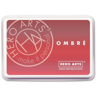 Hero Arts Ink Pad Ombre Light Ruby/Royal Red