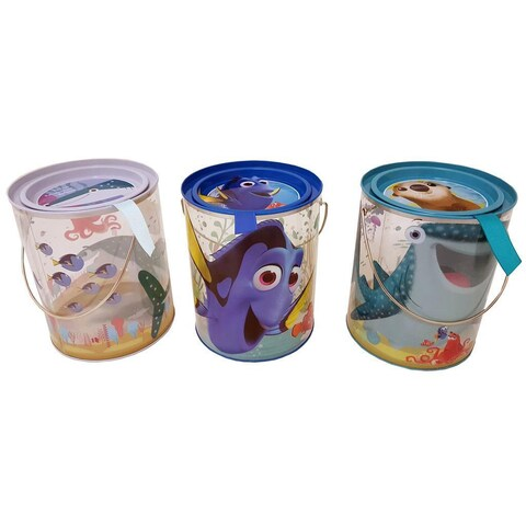 Tin Box Co Clear Bucket Disney Finding Dory Astd