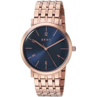 DKNY Women's NY2611 'Minetta' Rose-Tone Stainless Steel Watch
