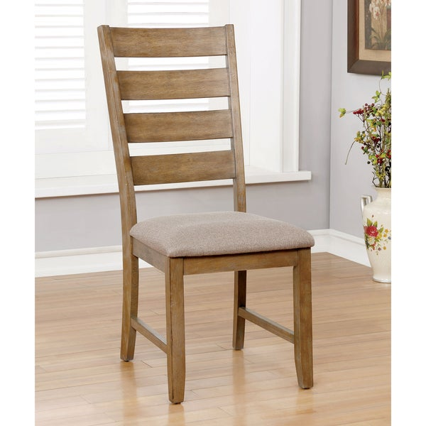 Shop Dining Room Chairs: Shop Furniture Of America Done Country Brown Dining Chairs