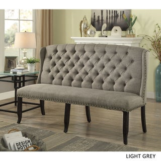 Copper Grove Breton Tufted Wingback 3-seater Loveseat (3 options available)