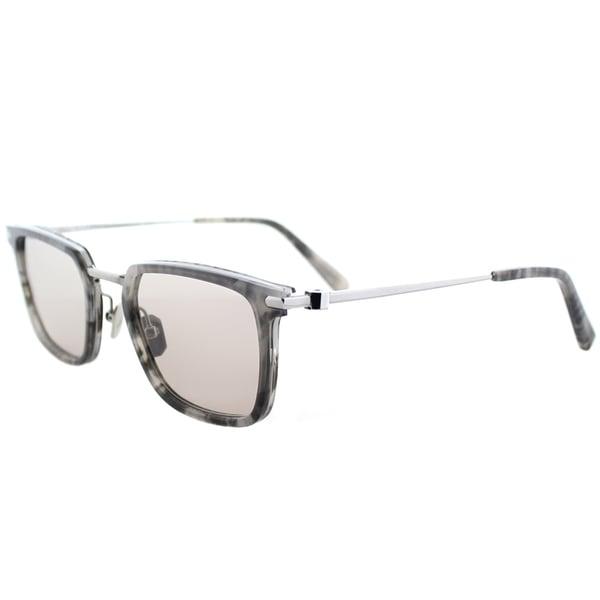 55f9971524 Brioni BR 0010S 004 Grey Havana Ruthenium Frame Grey Photochromatic Lens  Sunglasses